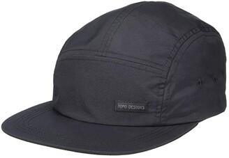 Topo Designs Nylon Camp Hat (Black 1) Caps