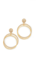 Kate Spade Ring It Up Drop Hoop Earrings