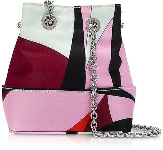 Emilio Pucci Alex Print Bonita Mini Bucket Bag
