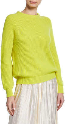 Forte Forte Wool-Cashmere Round-Neck Sweater