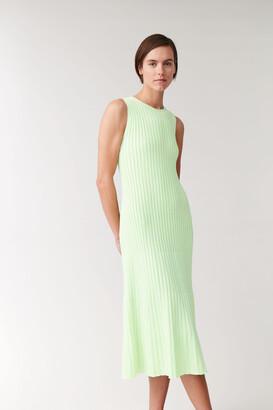 Cos Sleeveless Organic Cotton Dress