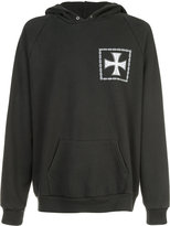 Enfants Riches Deprimes cross print hoodie - unisex - Cotton - S