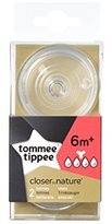 Tommee Tippee Teat Preparation Thick x 2?-?6?Months + by