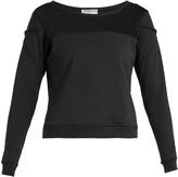 TRACK & BLISS Mesh-panel insert sweatshirt