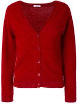 P.A.R.O.S.H. V-neck Langy cardigan - women - Polyamide/Angora - XS