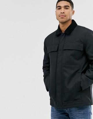 Topman black jacket