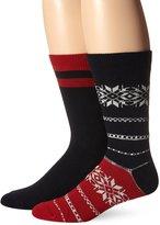 Ben Sherman Men's Keith Novelty Thick Crew Socks