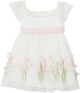 Biscotti Girls' Special Occasion Dresses IVORY - Ivory Spring Garden Dress - Newborn, Infant & Girls