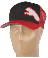 Puma The Jersey Mesh Snapback (Black Red) - Hats
