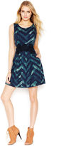 Rachel Roy Zigzag A-Line Dress