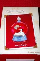Hallmark 2002 Ornament First Snow