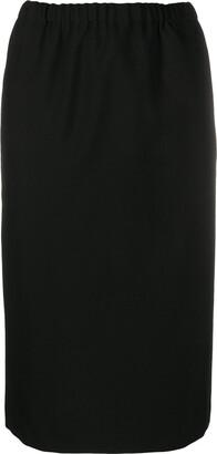 Comme des Garçons Comme des Garçons Straight-Fit Midi Skirt