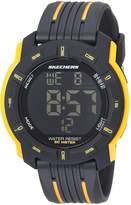 Skechers Men's Quartz Plastic Casual WatchMulti Color (Model: SR5098)