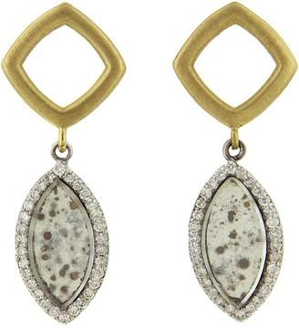 Darsana Yellow Gold Earrings