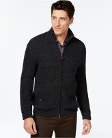 Vince Camuto Full-Zip Textured Sweater