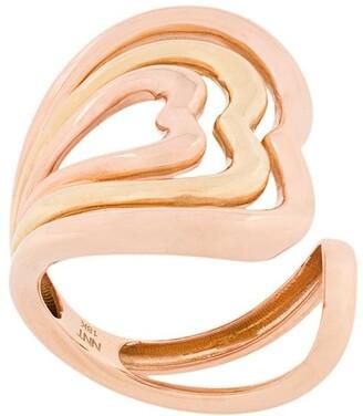 Nevernot Heart Embellished Ring