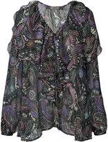 Roberto Cavalli paisley print blouse - women - Silk/Spandex/Elastane - 42