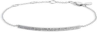 Meira T Diamond Bar Pendant Bracelet