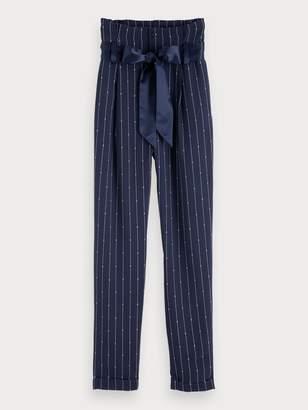 Scotch & Soda High Waisted Pinstripe Pants