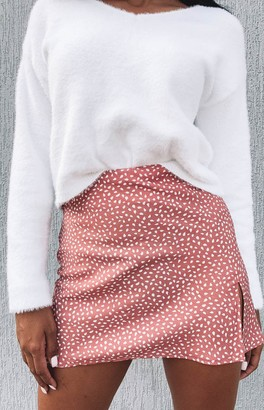 Beginning Boutique Laura Skirt Blush Print