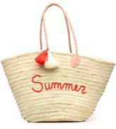Etincelles Panier artisanal Summer Rouge