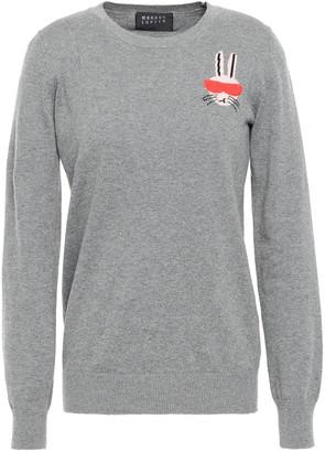 Markus Lupfer Emma Sequined Melange Intarsia Cotton Sweater