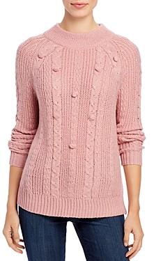 Single Thread Popcorn-Stitch Sweater