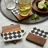 Crate & Barrel Marrakesh Coasters Set of Four