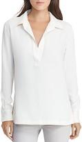 Lauren Ralph Lauren Crepe Tunic Shirt