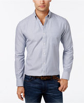 Club Room Men's Big and Tall Stripe Long-Sleeve Shirt