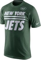 Nike Men's New York Jets Team Stripe T-Shirt