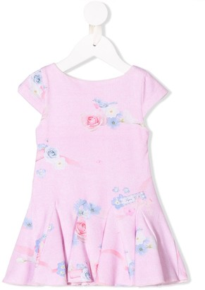 Lapin House Rose print dress