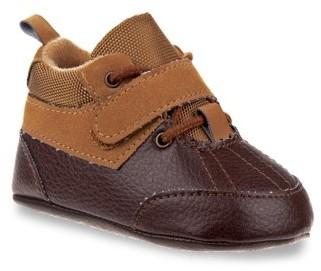 Joseph Allen Infant One Strap Laced Casual Shoe (Infant Boys)