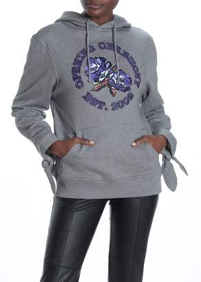 Opening Ceremony Applique Embroidered Hoodie