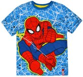 Marvel Boys Spiderman T-Shirt New Kids Short Sleeved Top Red Tee