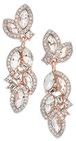 Nina Women's Romantic Crystal Drop Earrings