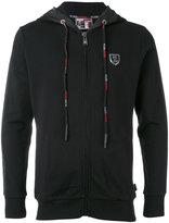 Plein Sport - zip hoodie - men - Cotton/Polyester - M