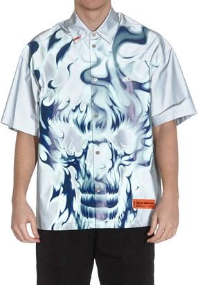 Heron Preston Skull Reflex Ice Shirt