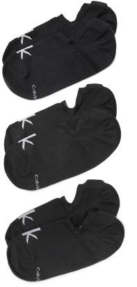 Calvin Klein Underwear 3 Pack No Show Sport Sock