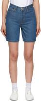 Thumbnail for your product : Won Hundred Indigo Denim Kiri Shorts