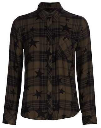 Rails Hunter Star Plaid Button-Up Shirt