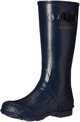 "LaCrosse Women's Grange 14"" Navy Rain Boot 5 M US"