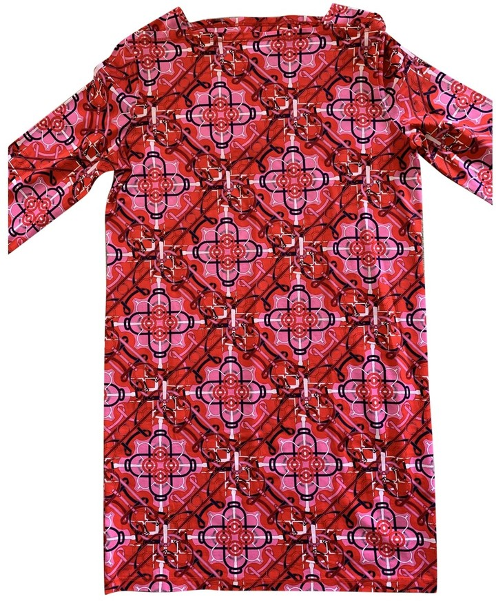 Hermes Red Cotton Dresses