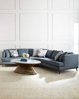 Ambella Capri Curved Sectional Sofa