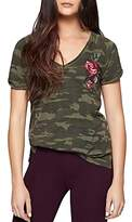 Sanctuary Embroidered Camo Tee