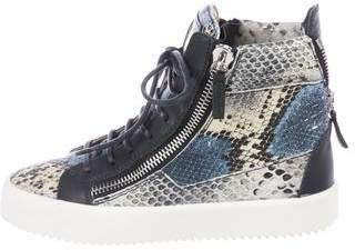 Giuseppe Zanotti Melody High-Top Sneakers