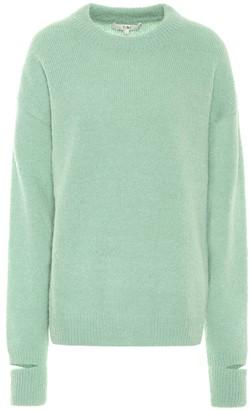 Tibi Airy alpaca-blend sweater