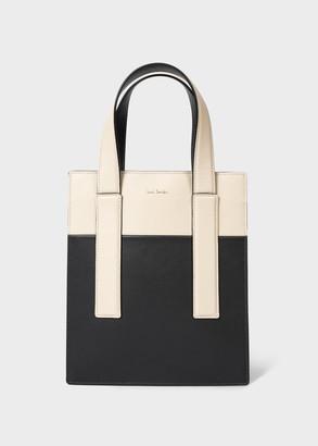 Women's Slate Colour-Block 'Concertina' Mini Tote Bag