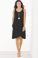 J. Jill Dipped-Hem Tank Dress