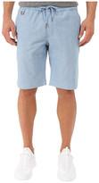 Publish Saar - Stretch Chambray On Elastic Waistband Shorts